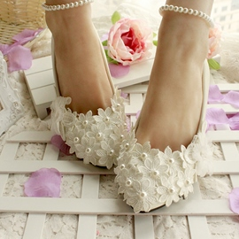 Ericdress Flower Petal&pearl Wedding Shoes