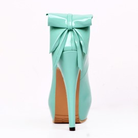 Ericdress Solid Color High Heel Pumps with Bowtie