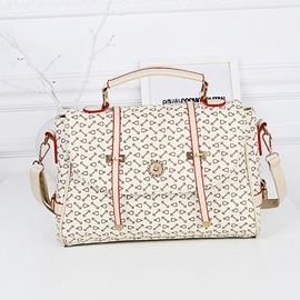 Ericdress Vogue Bone Pattern Arrow Shoulder Bag