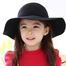 Cute Bowknot Decorated Kids Woolen Hat