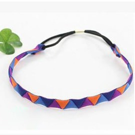 Unique Splicing Triangle Pattern Headband