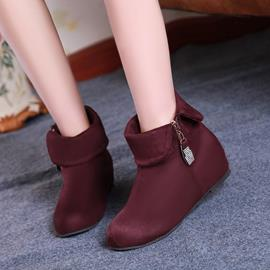 Ericdress Delicate Suede Ankle Boots