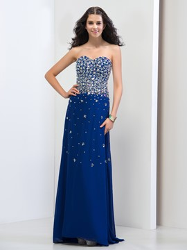 Ericdress Sweetheart Beading Sequins Prom Dresss