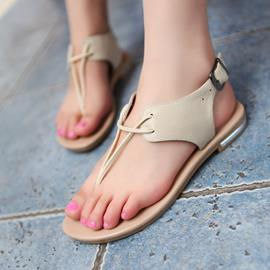 Ericdress Amazing Clip-toe Flat Sandals