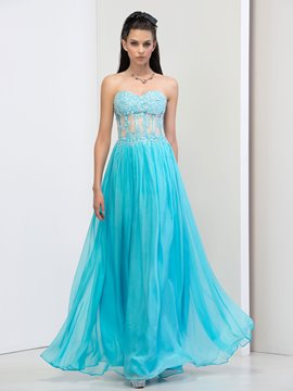 Ericdress Sweetheart Beading Sequins Lace Prom Dresss