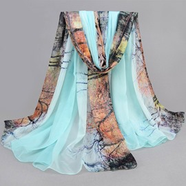 Large Size Vogue Chiffon Scarf