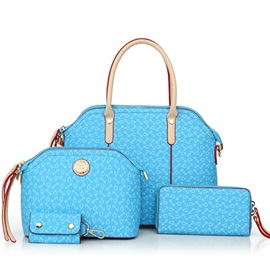 Ericdress Leisure Stone Pattern Shell Handbags(4 Bags)