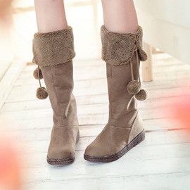 Ericdress Tassels Decoration Knee High Boots