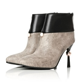 Ericdress Noble Patchwork High-heel Boots