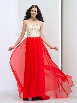 Ericdress Sweetheart Beading Sequins Sweep Train Prom Dresss