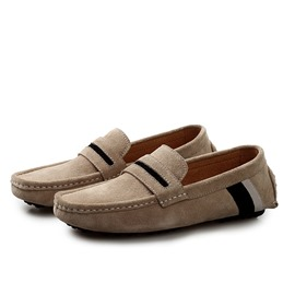 Ericdress Suede Comfortable Moccasin-Gommino