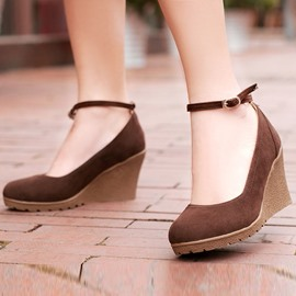 Ericdress Pretty Ankle Strap Wedges