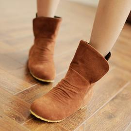 Ericdress Simple Suede Ankle Boots