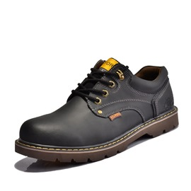 Ericdress Round Toe Men's Martin Boots