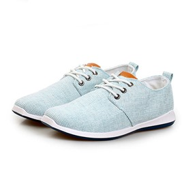 Ericdress Breathable Lace up Men's Canvas Shoes