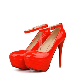 Ericdress Delicate Ankle Strap High Heel Pumps