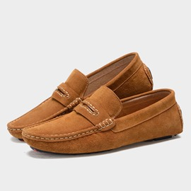 Ericdress Spring Solid Color Men's Moccasin-Gommino