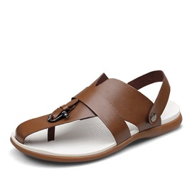 Ericdress Open Toe T-Shaped Buckle Men's Sandals