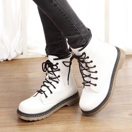 Ericdress New Pretty Lace-up Ankle Boots