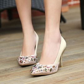 Ericdress Elegant Rhinestone Pointed-toe Pumps