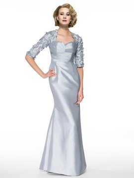 Ericdress Elegant Half Sleeves Mermaid Mother of the Bride Dress