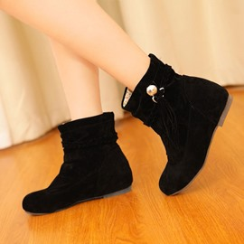 Ericdress VintageTassels Decoration Ankle Boots