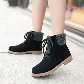 Ericdress Princess Lace-up Ankle Boots