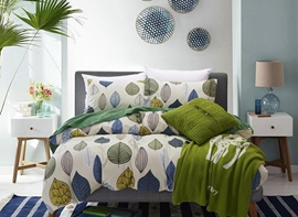 Ericdress Romantic Colorful Leaves 4-Piece Bedding Sets