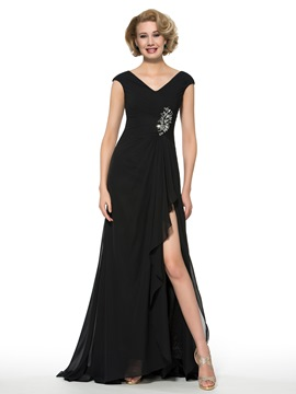 Ericdress charmant V Neck A Line Mutter der Brautkleid