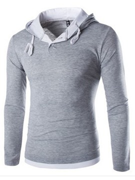 Ericdress Long Sleeve Pullover Men's Hoodie