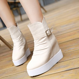 Ericdress Delicate Ankle Boots with Buckles