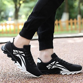 Ericdress Cool Color Block Lace-Up Men's Athletic Shoes