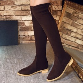 Ericdress Charming Suede Knee High Boots