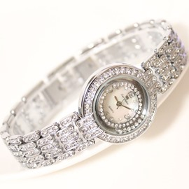 Noble All Shining Rhinestone Decorated Watch