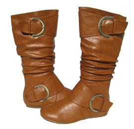 Ericdress Hot Selling Brown Knee High Boots
