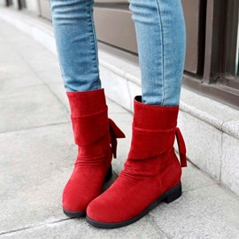 Ericdress Amazing Suede Flat Boots