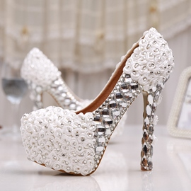 Ericdress Princess Flower&rhinestone Wedding Shoes