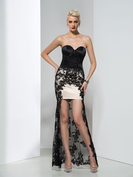 Ericdress Trumpet Empire Asymmetrical-Length Evening Dress