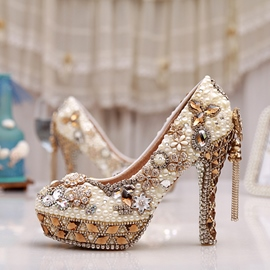 Ericdress Princess Luxurious Crystal Wedding Shoes