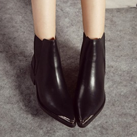 Ericdress Retro Pointed-toe Knight Boots