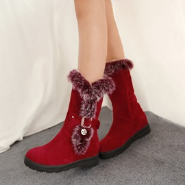 Ericdress Fashion Mid-calf Snow Boots