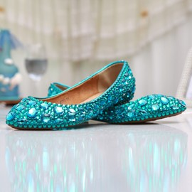 Ericdress Popular Crystal Wedding Shoes