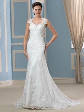 Ericdress Charming Sweetheart Mermaid Wedding Dress