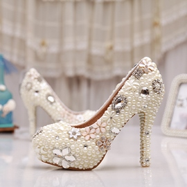 Ericdress Luxurious Diamond Wedding Shoes