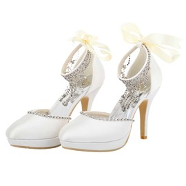 Ericdress Elegant Rhinestone&tassels Wedding Shoes