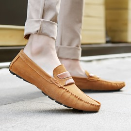 Ericdress British Suede Men's Moccasin-Gommino