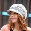 Ericdress Warm Solid Color Knitted Hat