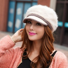 Ericdress Vogue Warm Fur Beret Hat