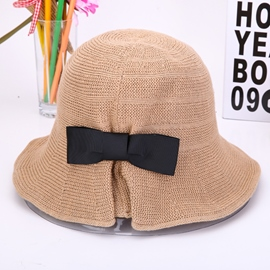 Bowknot Elegant Cotton Hat