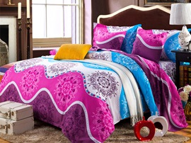 Ericdress Beautiful Space 4-Piece Bedding Sets